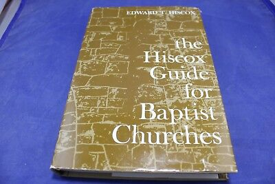 Hiscox Guide For Baptist Churches Hardcover Directory Edward T. Hiscox 1964