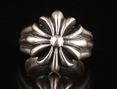 Classic Collection 925 Silver Hand-Carved 2003 Rings Wedding Ring Gift