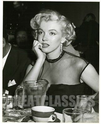 Marilyn Monroe At Party As Young As You Feel 1951 Original Vintage Photograph