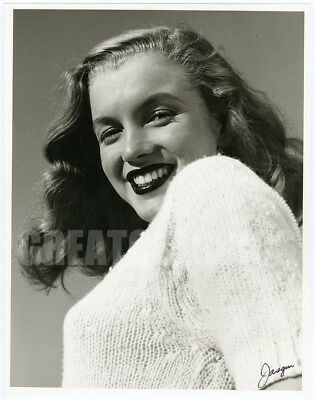 Marilyn Monroe '46 Young Beauty Vintage Oversize Photograph Joseph Jasgur Signed