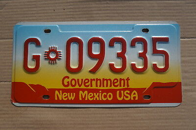 New Mexico Exempt License Plate - High Quality