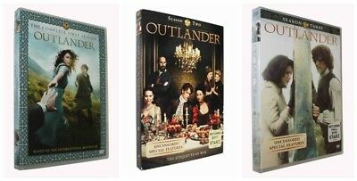 Outlander: Complete Series Seasons 1 2  3 1-3 DVD Bundle NEW US Seller Fast ship