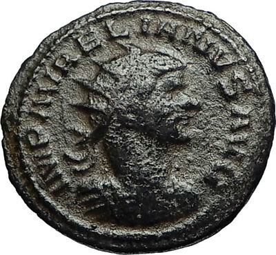 AURELIAN Authentic Ancient Genuine Original 270AD Antioch Roman Coin SOL i67569