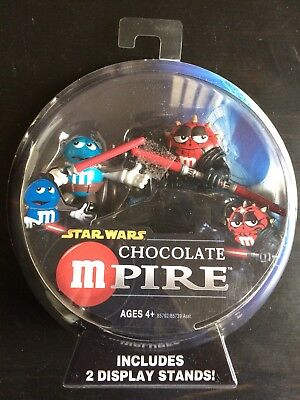 Star Wars Chocolate Mpire (2005) Count Dooku/Darth Maul NIB