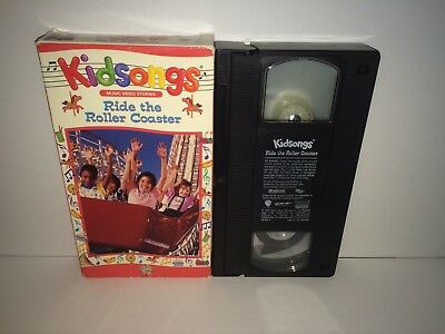 Kidsongs Ride The Roller Coaster Vhs 1990 Tested W Sleeve Music