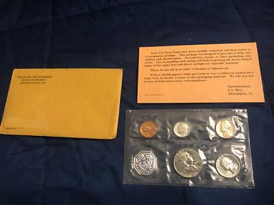 1963 P US Mint Complete Proof Set WITH COA & ENVELOPE Sealed in Plastic *NEW*