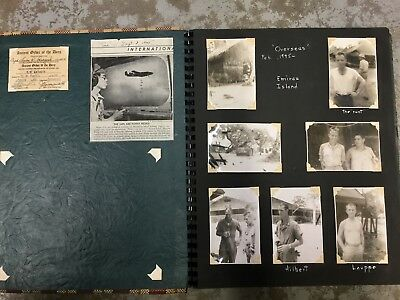 Pacific Theater World War II Photo Album 198 Original Photographs Aircraft etc