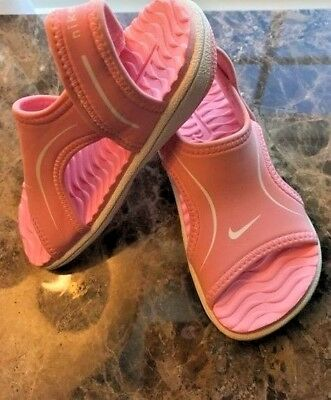 Nike Sandals NEW Baby Sunray Pink Water Sandals  Toddlers Girls Size 7