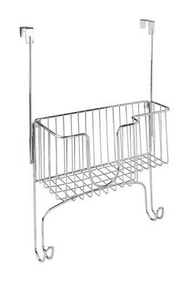 Interdesign 6560452 13 x 13 x 5.3 in. Ironing Board with Holder Silver