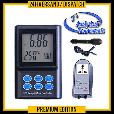 Ph/temp-Controller/ph-Regler/ph-Meter Co2 Anlage (Autokalibrierung)  Ph-221 P14