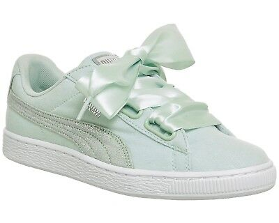 f5ed0f97b80b5c PUMA BASKET HEART Canvas Wns 366495 02 Womens Shoes Pearl Rose Gold ...