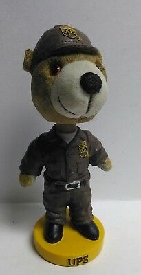 UPS / United Parcel Service Delivery Brown Bear Bobble Head Resin | Collectible