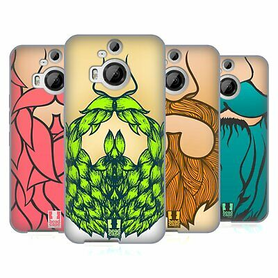 Head Case Designs Vibrant Beard Soft Gel Case For Htc Phones 2