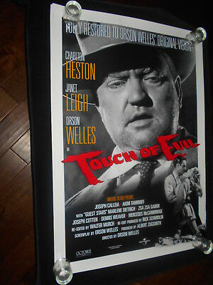 Touch Of Evil Orson Welles Reissue 1998  Original Rolled One Sheet Poster