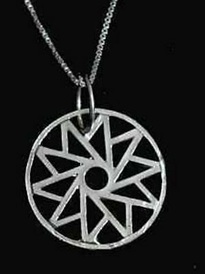 LOOK Celtic HEALING CIRCLE OF LIFE Sterling Silver 925 charm Jewelry New