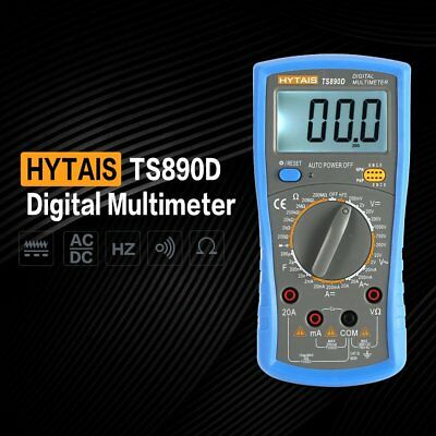 LCD Digital Multimeter 1999 Counts Voltmeter Ammeter AC DC OHM Tester LOT WB