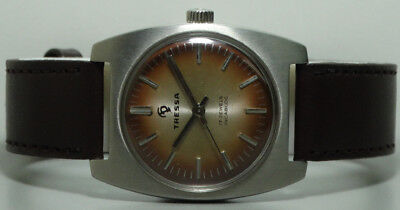 Superb Vintage Tressa Winding Swiss Wrist Watch Old s865 Used Antique