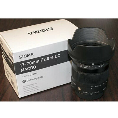 Sigma 17-70mm F2.8-4 DC MACRO OS HSM Lens for Canon EF From EU Nuevo