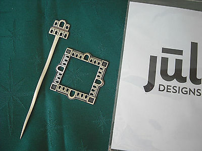 JUL Designs Palace Courtyard Shawl Pin