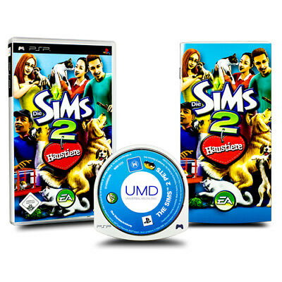 Playstation Portable - Jeu Psp Die Sims 2 Haustiere