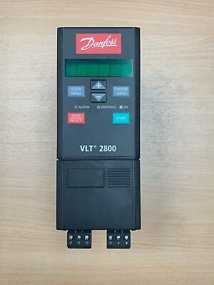 Danfoss Vlt2807Pt4B20Str0Dbf10A00C0 195N1017 (Used, Excellent Condition)