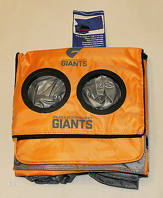 Greater Western Sydney Giants GWS AFL Insulated Cooler Bag & Picnic Rug New