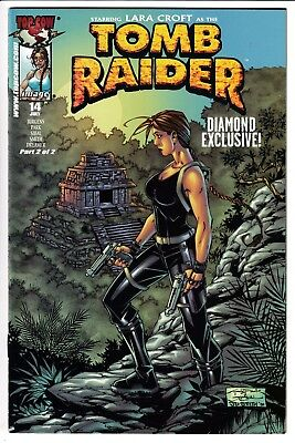 TOMB RAIDER: THE SERIES #14, DIAMOND EXCLUSIVE COVER, Image/Top Cow (2001)