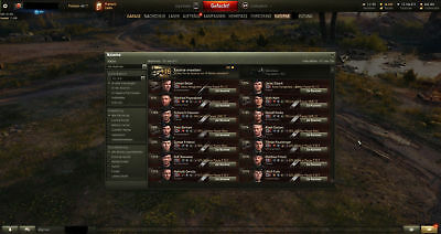 World of Tanks EU-Account, WOT, 44 Tier X, Obj.907,260, M60,T95E6, FV215b u.183