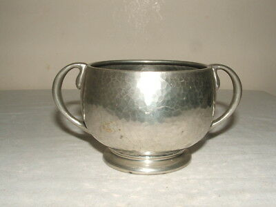 Knox Tudric 01216 For Libertys Amazing Shaped Pewter Twin Handled Bowl V Rare