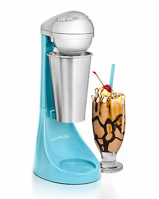 Milkshake Maker Blender 2 Speed Durable Stainless Steel Cup and Mixing Rod
