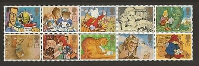 "GB Stamps: 1994 Greetings Stamps, ""Messages"", Booklet Pane 1800a"