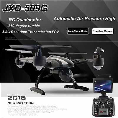 JXD 509G FPV 2.4Ghz 4CH RC 6-Axis Quadcopter Drone with 2MP Camera RTF UFO DRONE