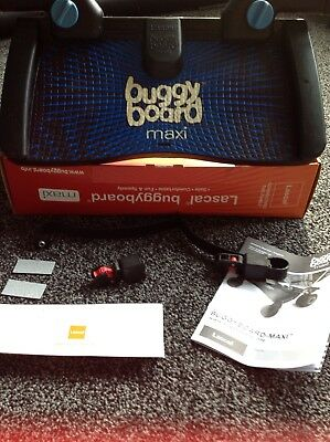 Lascal Maxi Buggy board blue with uncut connectors Excellent Condition Boxed