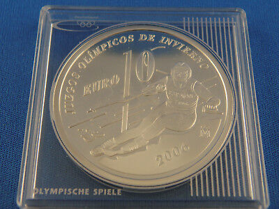 Spanien 10 Euro 2005, Olympiade , Silber *PP/Proof