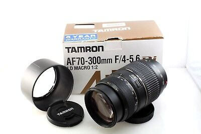 Tamron AF 70-300mm f/4-5.6 Di LD Macro Zoom lens, Sony Alpha Mount, boxed