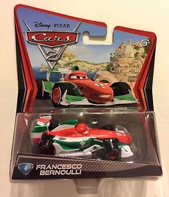 CARS 2 - FRANCESCO BERNOULLI - Mattel Disney Pixar