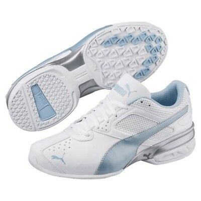 980c6c9cc30f WOMEN S PUMA CELL Riaze Prism Running Shoe White Silver Size 6 ...