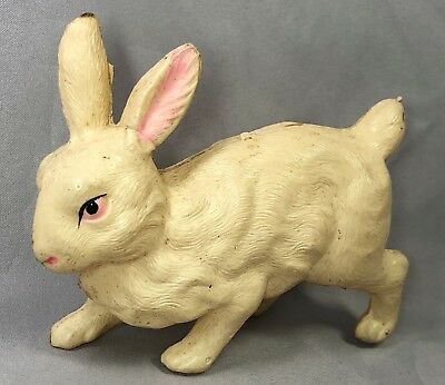 CELLULOID Bunny RABBIT Japan TOY Original ANTIQUE 4 1/2-inch