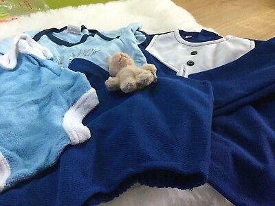 Authentic Vintage  Infant Baby Childrens Romper Suits Bundle 0/6 Months Unused