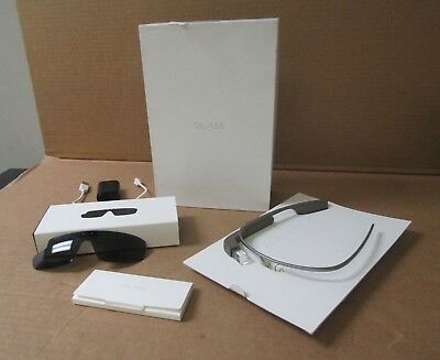 Google Glass Explorer Edition  XE-C  Shale  with accessories