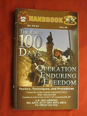 Nov 2008 The First 100 Days Operation Enduring Freedom