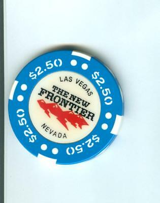 $2.50 The New Frontier  Casino Poker  Chip--