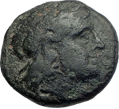 ADAIOS 275BC Skythian King of Thrace Apollo Tripod Ancient Greek Coin i74131