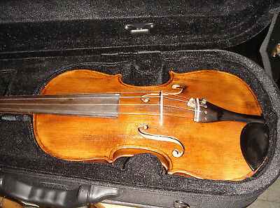4/4 FULL SIZE HOPF Violin early 1800's bow and new Case