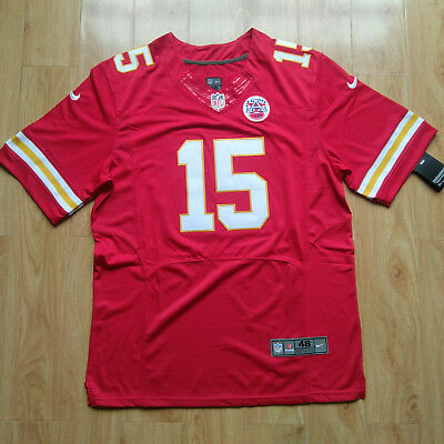 Men's Stitching Patrick Mahomes Red #15 Elite Football Jersey Chiefs M-3XL