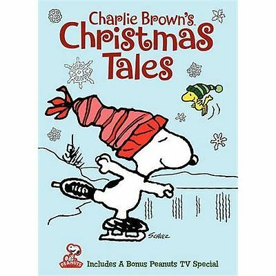 Charlie Brown's Christmas Tales dvd. NEW. Free shipping.