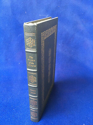 EASTON PRESS genuine leather BOOK henry james THE TURN OF THE SCREW literature