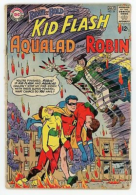 Brave and the Bold #54 1st Appearance Teen Titans DC JULY 1964 Fine- 5.5