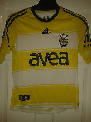 Boys Football Shirt - Fenerbahce - Third 2008-2009 - Adidas - Turkey - Size 164