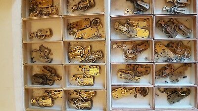 Job Lot Of Platform Escapement Parts. Clock .timer Spares Or Repair